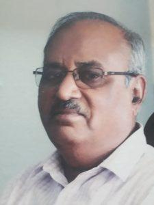 डॉ. प्रल्हाद लुलेकर, संमेलनाध्यक्ष, १४ वे विद्रोही साहित्य संमेलन