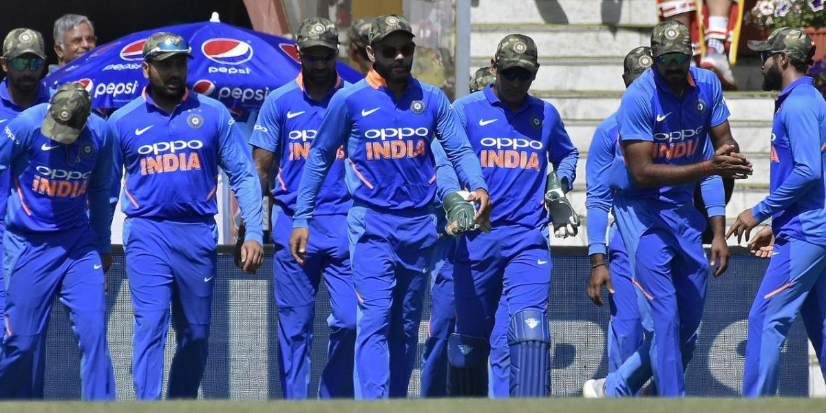 भारतीय क्रिकेट संघाचे सीमेपारचे सैन्यप्रेम