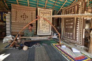 कच्छ् येथील खरड विणकर. श्रेय: आशिष कोठारी