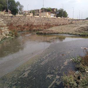 गंगेत जाण्याआधी सलोरीतील प्रक्रिया केलेले आणि न केलेले पाणी एकमेकांमध्ये मिसळते