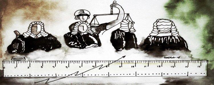 न्यायाधीशांच्या मूल्यमापनाचे मापदंड