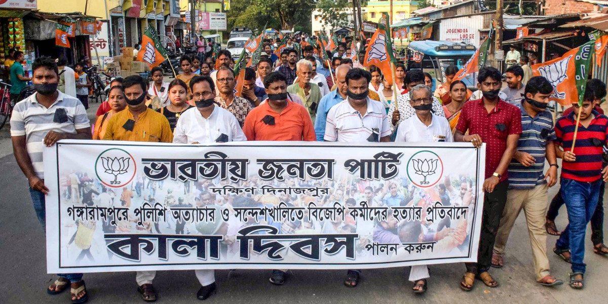 प. बंगालमध्ये भाजपची मुसंडी, तृणमूल बचावात्मक