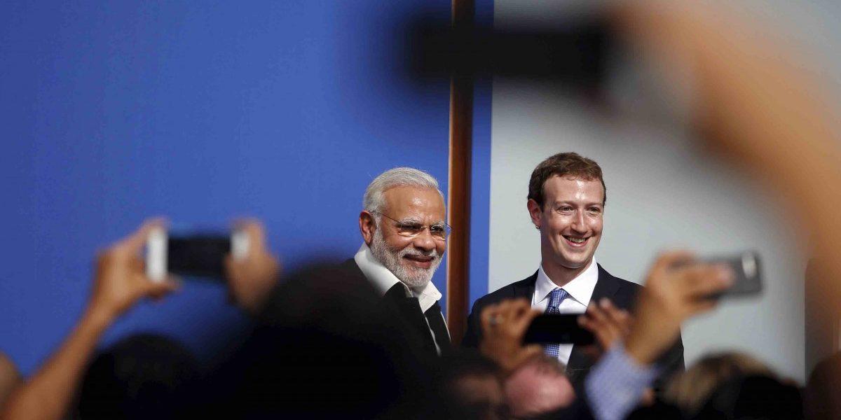 फेसबुक – भाजप यांचं साटंलोटं