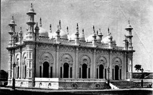 टीपू सुलतान मस्जिद, फ्रान्सिस फर्थ यांनी १८७० मध्ये टिपलेले छायाचित्र