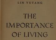 'इंपॉर्टन्स ऑफ लिव्हिंग'
