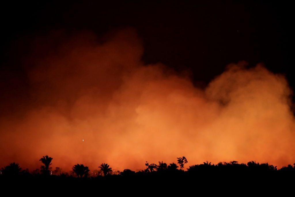अॅमेझॉन वर्षावनाच्या आगीमुळे साओ पावलो अंधारात