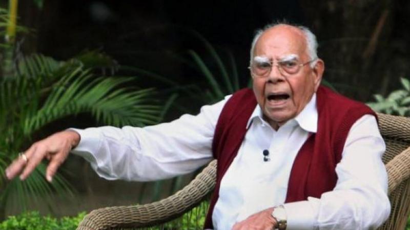राम जेठमलानी – निष्णात पण वादग्रस्त कायदेतज्ज्ञ