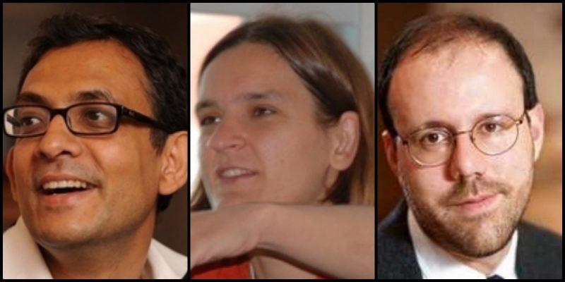 अभिजित बॅनर्जी, इस्थर डुफ्लो व मायकेल क्रेमर यांना अर्थशास्त्राचे नोबेल
