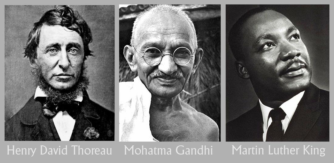 गांधी, थोरो आणि सविनय प्रतिकार