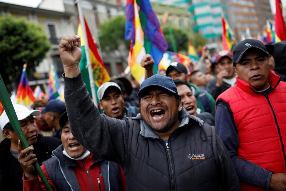 बोलिवियातील सत्तासंघर्ष