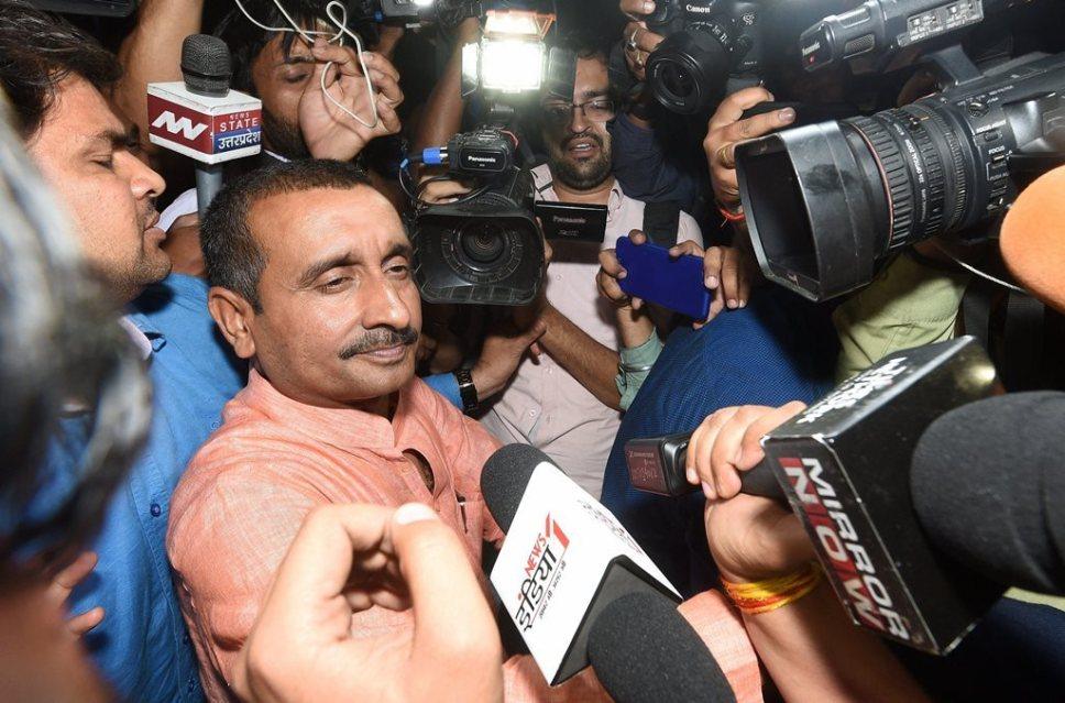 भाजप नेता कुलदीप सेंगर बलात्कार प्रकरणात दोषी