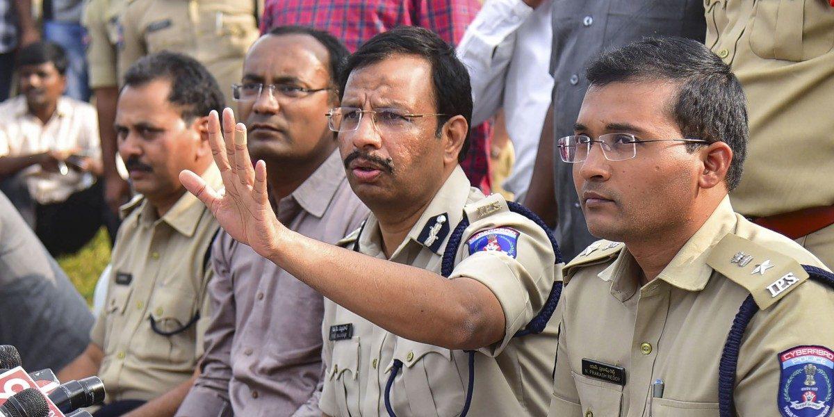 एन्काउंटर कायद्याप्रमाणेच : सायबराबाद पोलिस कमिशनर