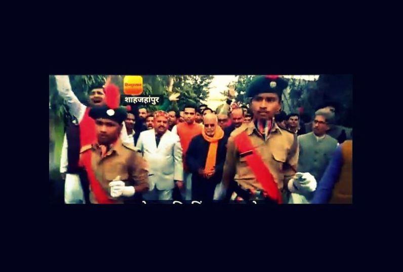 बलात्कार आरोपी चिन्मयानंदला एनसीसीची सलामी