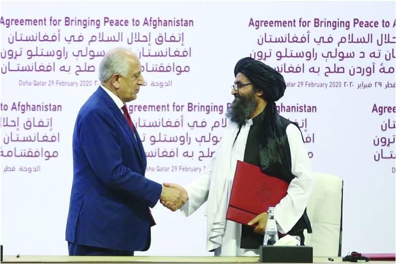 अमेरिका तालिबान शांतता करार – भोंगळ पळवाट