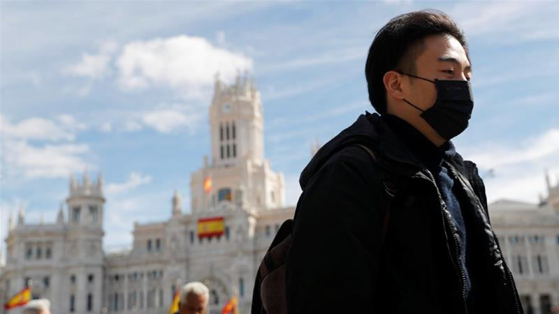 अमेरिकेतील अनेक राज्यांत 'लॉक-डाउन'; स्पेनमध्ये करोनामुळे हाहाकार