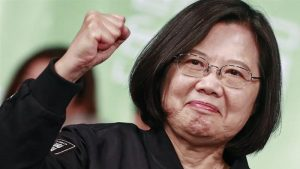 राष्ट्राध्यक्षा त्साई इंग-वन