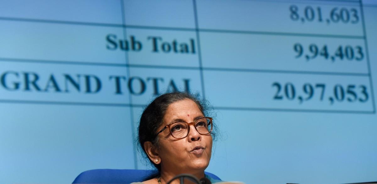 मोदी पॅकेजची १० टक्केच रक्कम गरीब व बेरोजगारांसाठी