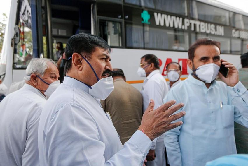 राज्यसभा निवडणुका : गुजरात काँग्रेस आमदारांची चौकशी शक्य
