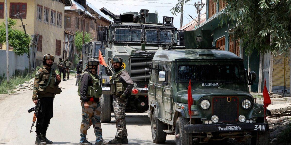कश्मीरमधील शांतता प्रस्थापनाचा दावा खोटा