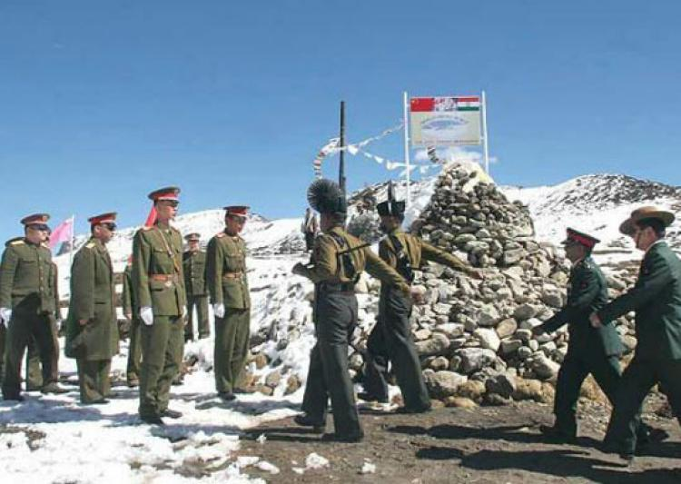 हद्दीत शिरलेल्या चिनी सैनिकाची सुटका