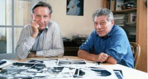 फोटोग्राफर जीन मॉर सस्सॉल आणि लेखक जॉन बर्जर