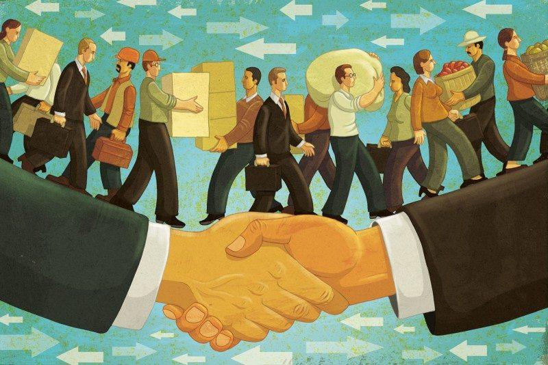 'ओपन' व्यापार आणि मानवी प्रगती
