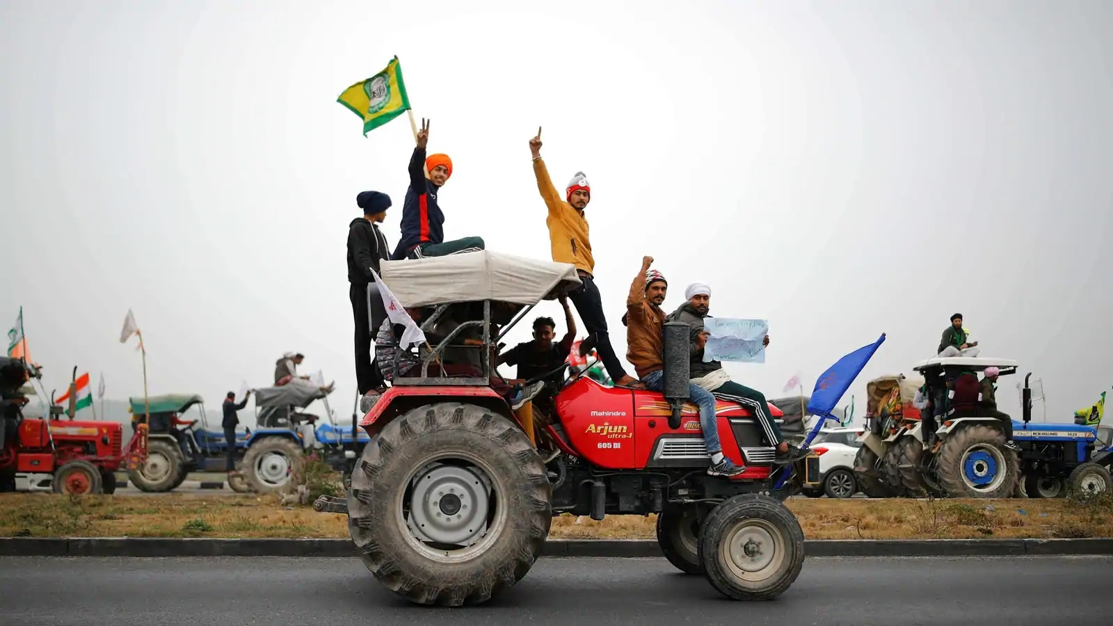 ट्रॅक्टर रॅलीः पोलिस-शेतकरी संघटनांची बैठक निष्फळ
