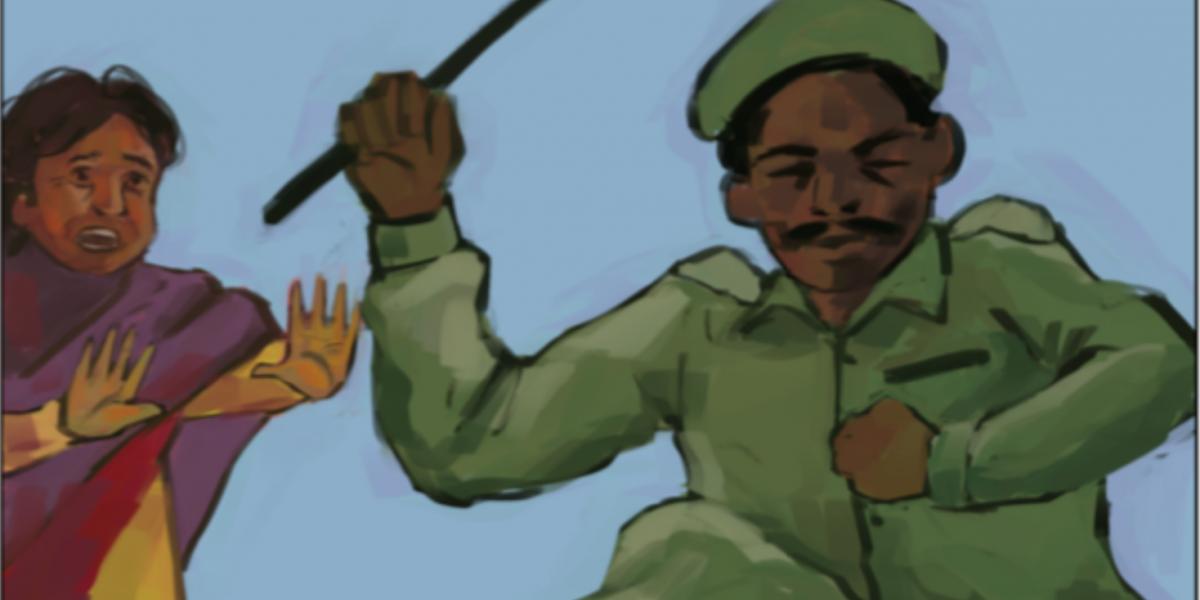चित्रकथा – पोलिसांच्या क्रोधाचा सामना करणार्या फुल्लोबाई