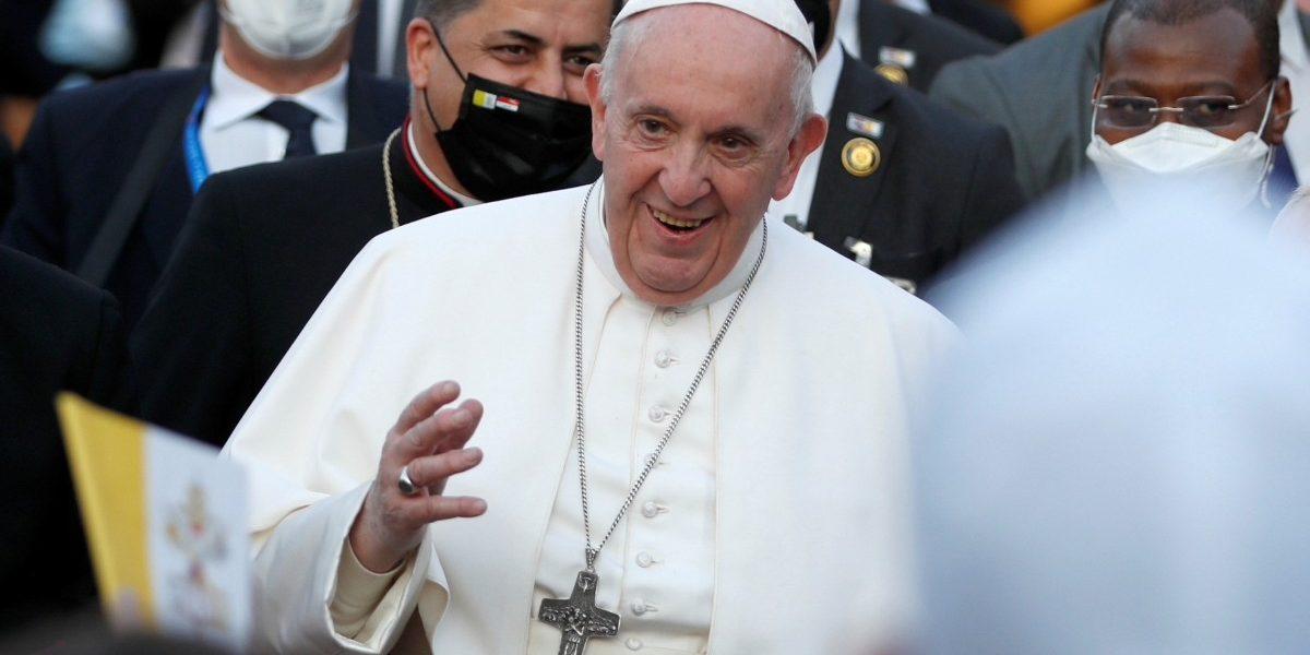 इराकमध्ये मुस्लिम-ख्रिश्चनांनी सलोखा ठेवावाः पोप फ्रान्सिस