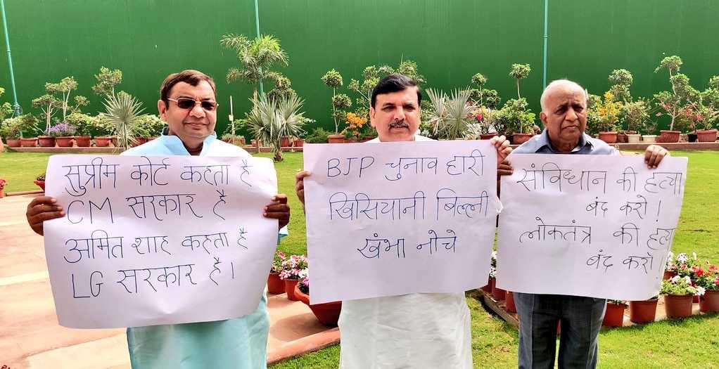 दिल्लीत सरकार नायब राज्यपालांचेः नवे विधेयक