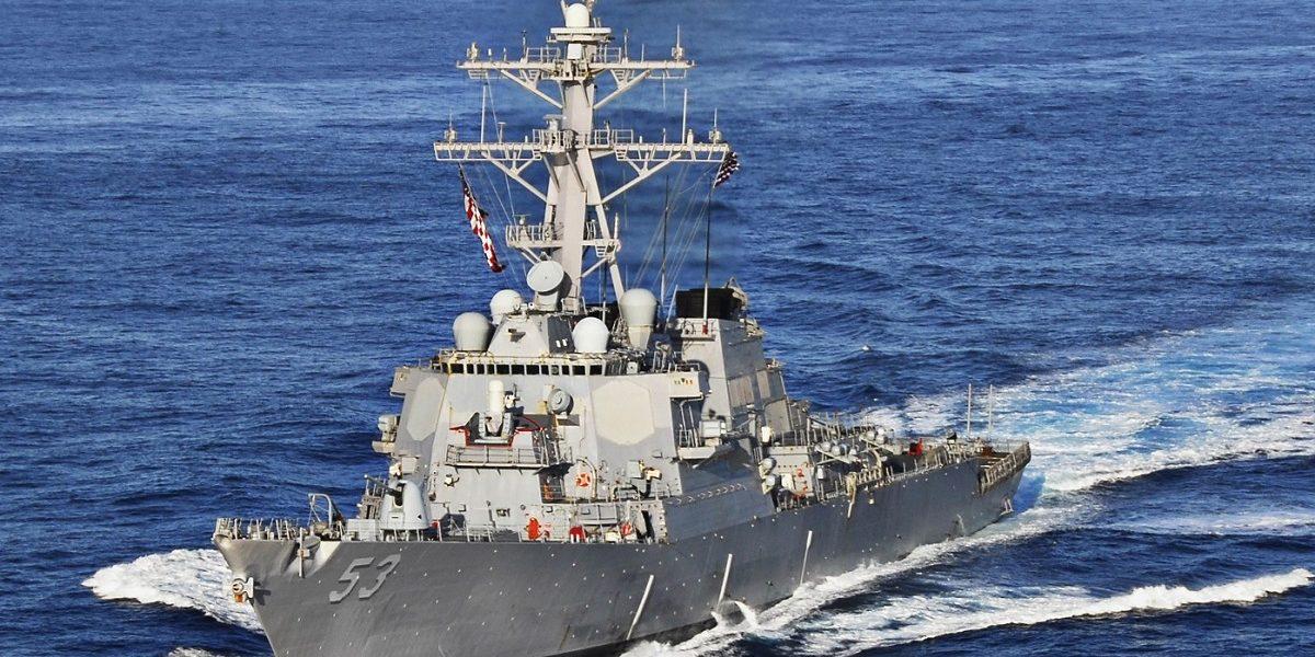 अमेरिकेच्या नौदलाची भारतीय हद्दीत घुसखोरी
