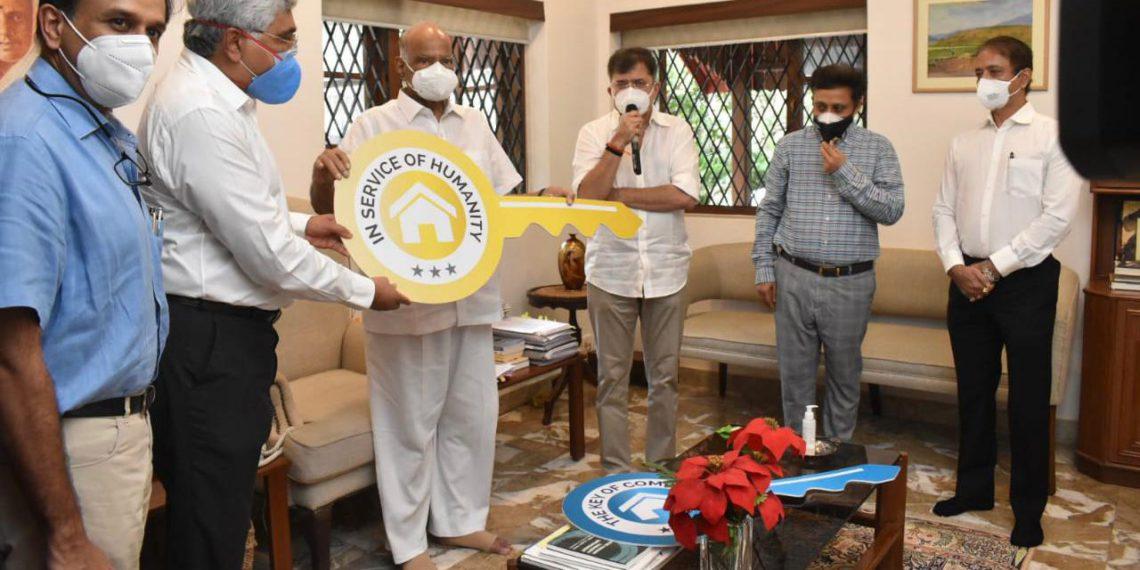 कॅन्सरग्रस्त रुग्णांच्या कुटुंबाची मुंबईत राहण्याची सोय