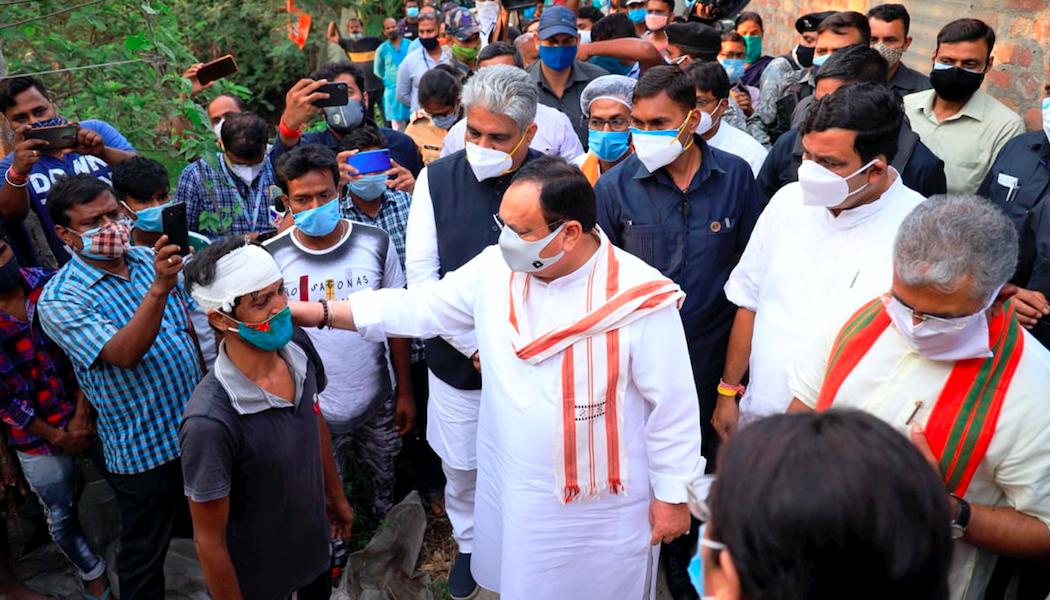 बंगालमधील हिंसाचार कथांना बनावट बातम्यांचा आधार
