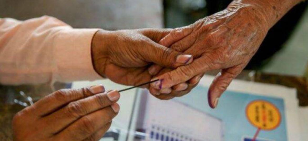 जि. प., पं. समित्यांच्या पोटनिवडणुकांसाठी ६३ टक्के मतदान